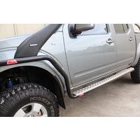 Isuzu DMAX (2008-2012) MCC Side Steps with Rails
