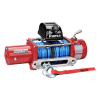 Runva 11XP 12V RED with Dyneema Rope