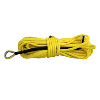 Runva Dyneema Winch Rope - 40m x 12mm (YELLOW)