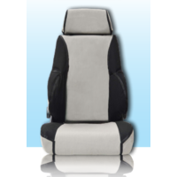 MSA Premium Canvas Seat Covers Isuzu DMAX (2008-2012)