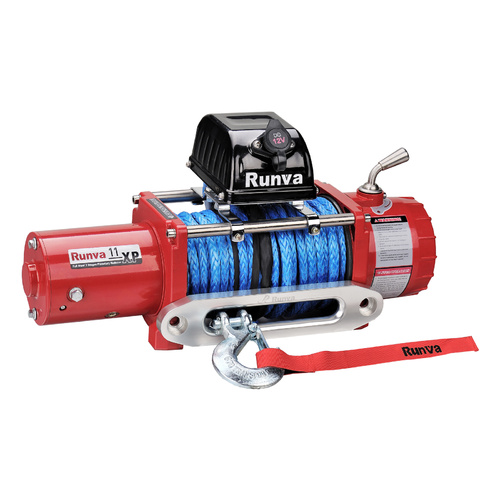 Runva 11XP 24V RED with Dyneema Rope