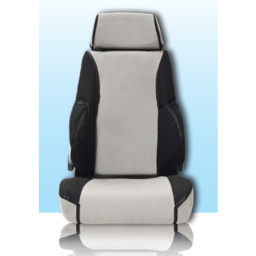 MSA Premium Canvas Seat Covers Isuzu DMAX (2012-ON)